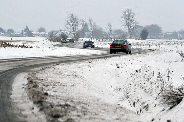 Pluie verglaçante et neige (Illustration, métropole lilloise, le 26 janvier 2013)