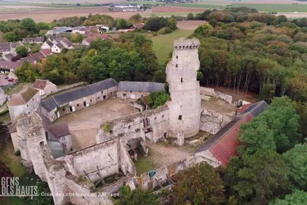 Le château de Montépilloy