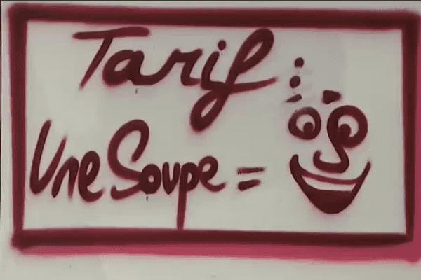 Une soupe pour une sourire, une opération menée par des associations de Chambéry
