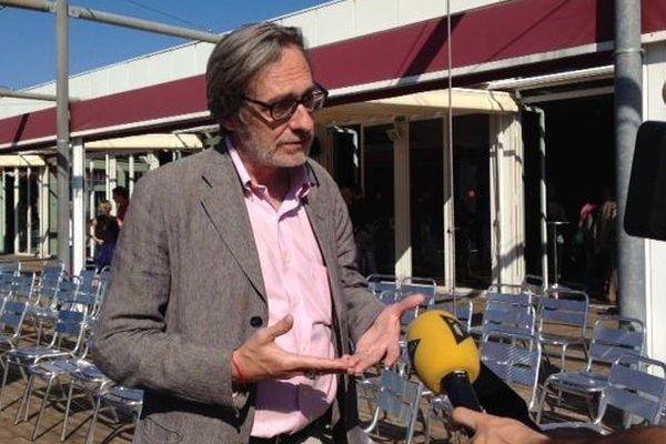 Jean-François Leroy à Perpignan en 2014