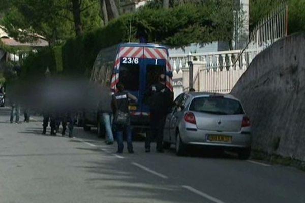 L'arrestation du premier suspect à Beille jeudi après-midi