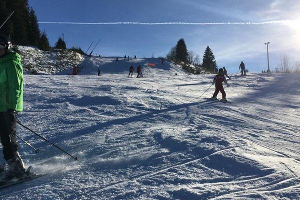 Pas de ski dimanche 10 mars 2019 pour les curieux du Ballon d'Alsace, en raison des intempéries le domaine a fermé ses pistes.