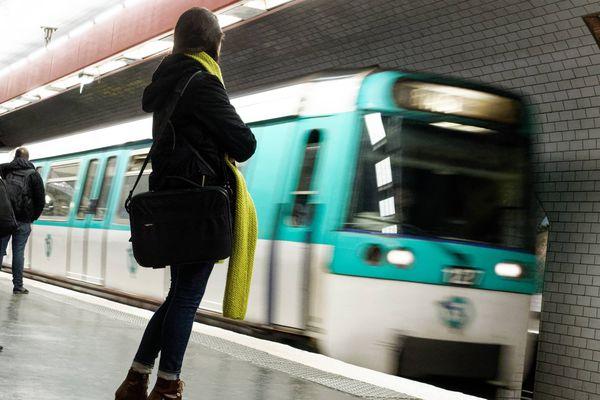 Paris, pour les 60 ans d'Astérix, la RATP rebaptise des stations de métro (Image d'illustration)