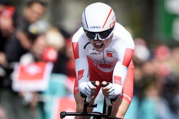 David Gaudu termine 5e du Tour de Romandie. le breton de 22 ans ramène un nouveau maillot blanc de meilleur jeune