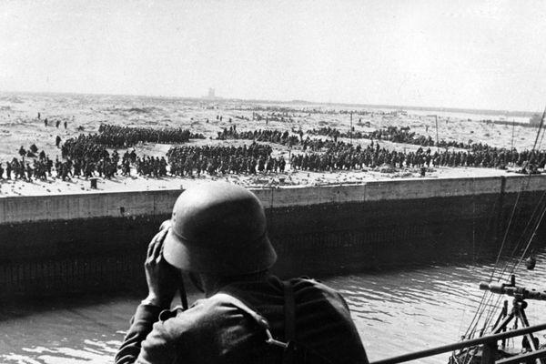 Archive de la bataille de Dunkerque en 1940.