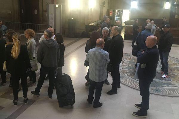 22/06/2018 - Dernier jour du procès de 8 nationalistes jugés aux assises à paris pour des attentats commis en Corse en 2012.