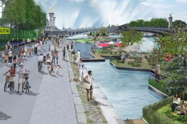 Le projet de reconquête des voies sur berges de Paris est relancé