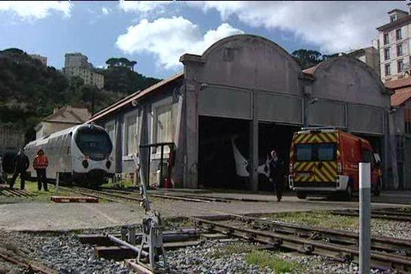 L'homme a été trouvé en arrêt cardio-respiratoire à la gare de Bastia.