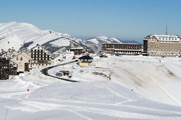 La station de ski de Luchon-Superbagnères, en Haute-Garonne.