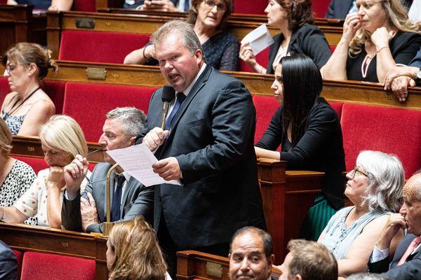 Jean-Baptiste Moreau à l'Assemblée nationale. (Images d'illustration)