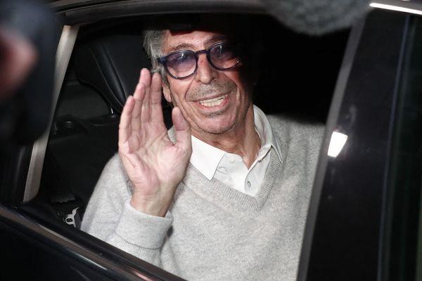 Patrick Balkany, à sa sortie de la prison de la Santé le 12 février dernier.