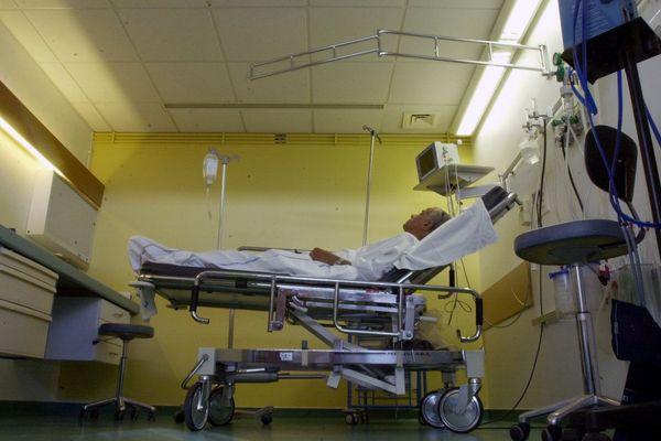 Une salle médicalisée du service des urgences du CHU de Strasbourg