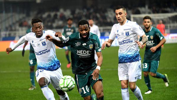 L'AJ Auxerre contre le FC Sochaux, en Ligue 2.