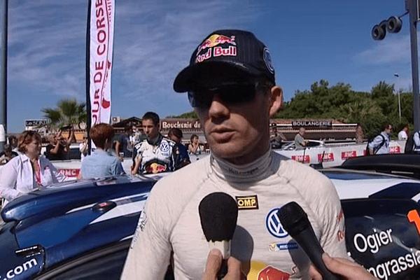 Sébastien Ogier a remporté les quatre spéciales de la première journée de la manche française du Championnat du monde de Rallyes, vendredi 30 septembre.
