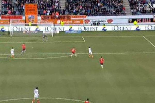 Le troisième but de Niang ne suffira pas Lorient-Montpellier 4/4.