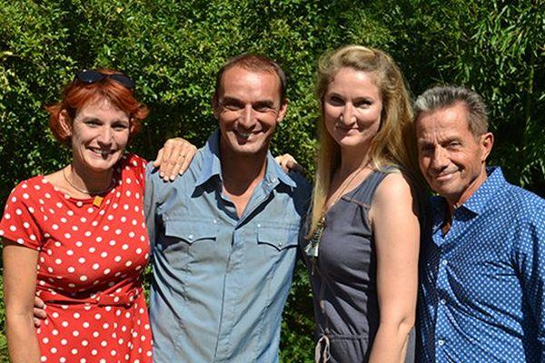 Amélie Douay, Franck Menestret, Florence Cicolella et François-Marie Lapchine