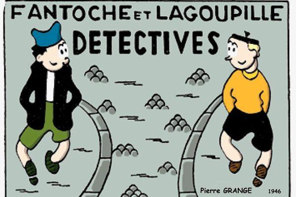 Bande dessinée de Pierre Grange
