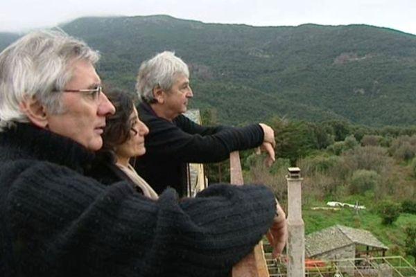 Au hameau de Conchiglio, dans le Cap corse