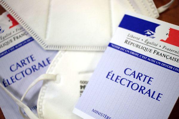 """Les """"mesures barrières"""" seront obligatoires sur les lieux de vote pour le second tour des élections municipales."""