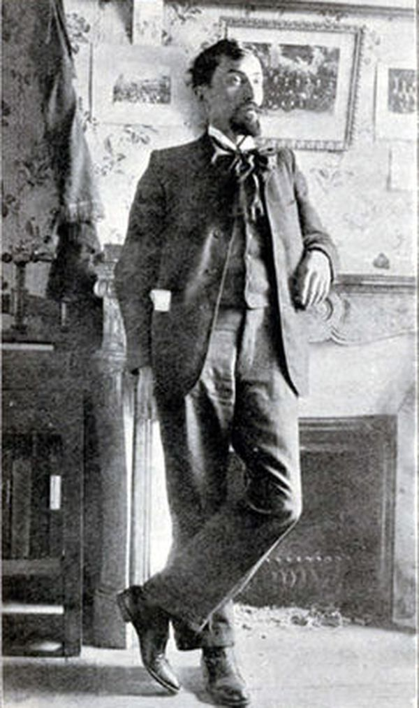 Victor Griffuelhes en 1906.