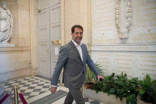 Christophe Castaner à l'Assemblée nationale.