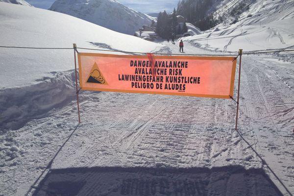 Le risque d'avalanche est de 4/5 dans tous les massifs d'Isère, Savoie et Haute-Savoie. (Illustration)