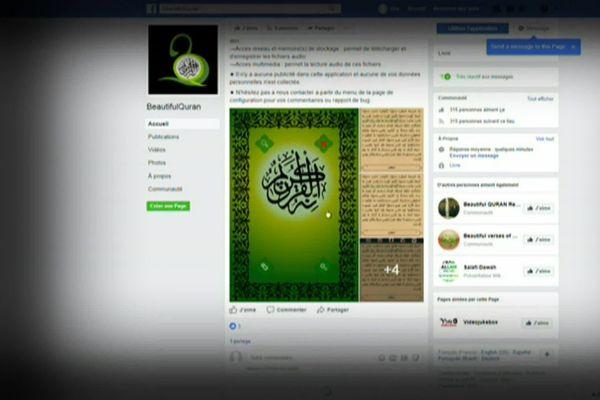 Les membres de la cellule terroriste mentonnaise communiquaient via les réseaux sociaux.