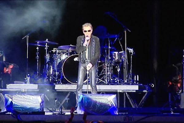 L'idole des jeunes s'est produite à pamiers, devant 7 000 spectateurs.