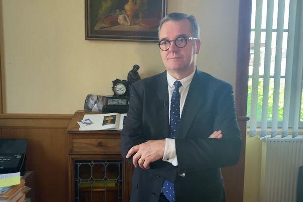 Le procureur de la République de Rodez, Olivier Naboulet. juin 2021.