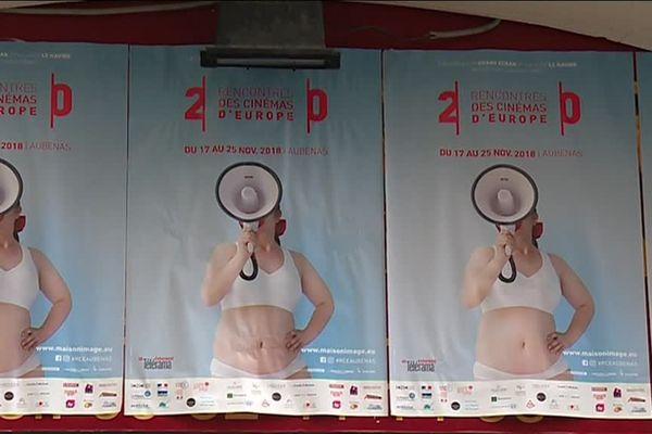 L'affiche 2018 du festival des Rencontres des cinémas d'Europe