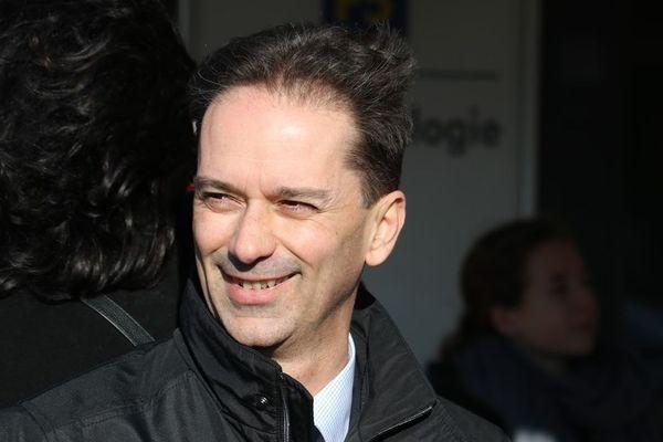 Sylvain Robert, réélu pour un second mandat à la mairie de Lens.