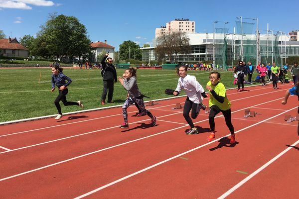 Course 50 mètres - Benjamines