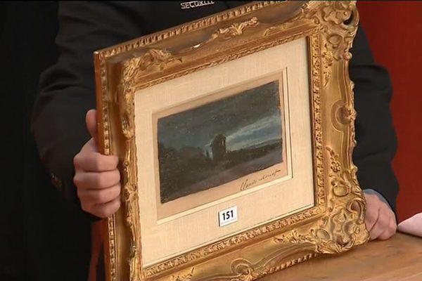 La Nuit à Yport de Claude Monet