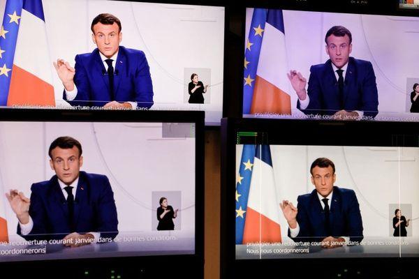 Le président de la République, Emmanuel Macron doit annoncer les mesures d'assouplissement du confinement.