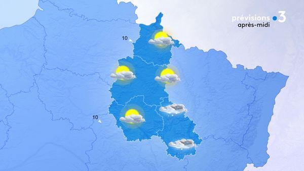 Des flocons touchent encore le département de la Haute-Marne