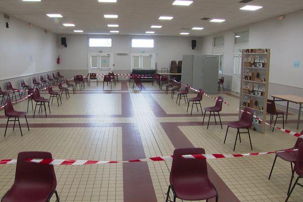 L'Agence régionale de santé a demandé de repousser sine dine l'ouverture du centre de vaccination de Saint-Aubin-en-Bray (Oise)