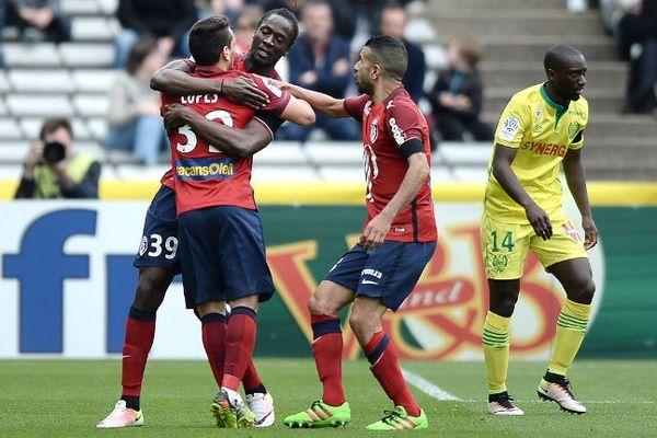 Les Nantais s'inclinent 3-0 face au LOSC, le dimanche 3 avril 2016.