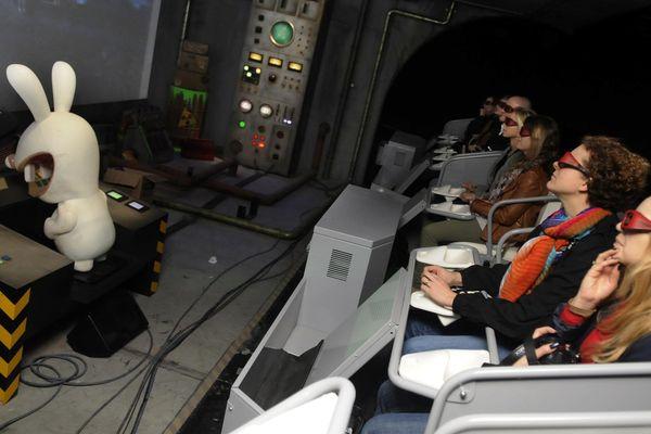 Les Lapins Crétins : la toute nouvelle attraction du Futuroscope