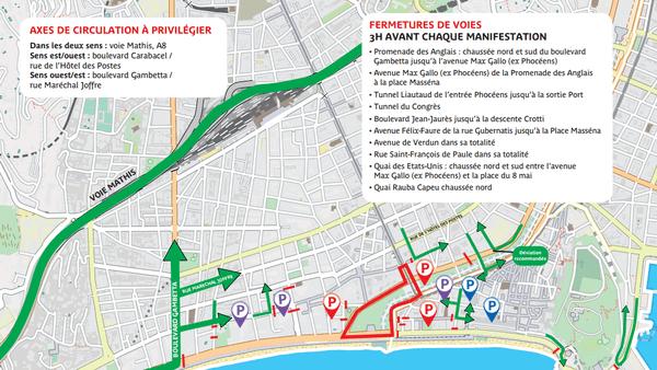 Quelles rues seront bloquées pour le Carnaval de Nice ?