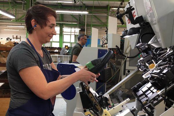 L'une des 10 apprenties formée chez Weston entre 2018 et 2019