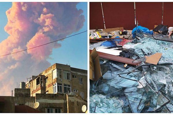 La double explosion d'un entrepôt à Beyrouth (Liban) a fait plus d'une centaine de morts et 4000 blessés