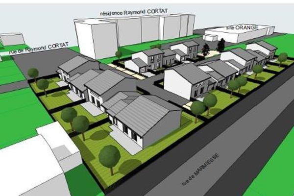 Voici à quoi devrait ressembler le nouveau quartier de Marmiers à Aurillac.