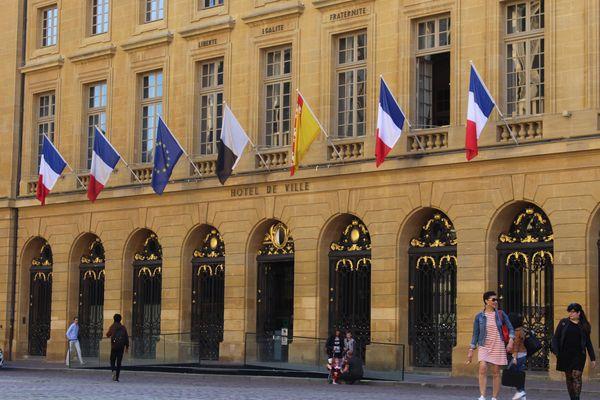 L'hôtel de ville de Metz sur la Place d'armes (archive)