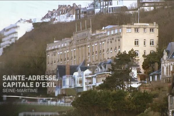 L'immeuble qui accueillit les ministres belges durant la guerre