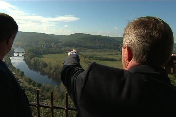 Germinal Peiro affirme que le contournement de Beynac n'aura qu'un impact mineur sur la vallée...