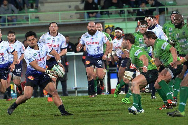 Pro D2 : Aurillac s'incline à Montauban (28-8)