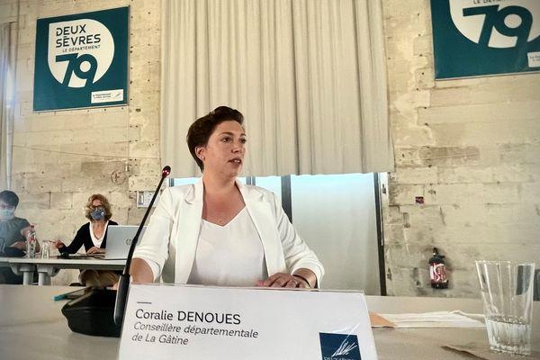 Coralie Dénoues élue présidente du conseil départemental des Deux-Sèvres