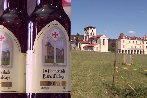 La nouvelle bière d'Abbaye de Chancelade