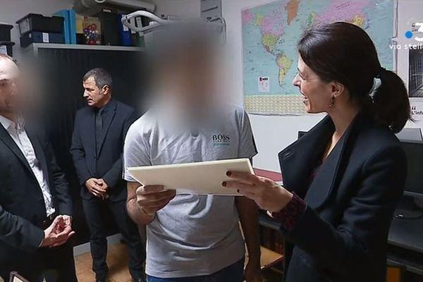 Deux jeunes détenus de la maison d'arrêt d'Ajaccio ont reçu leur diplôme ce vendredi 8 novembre.