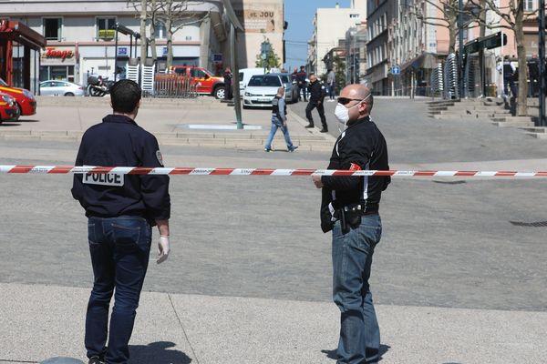 Romans-Sur-Isère, le 4 mars 2020, jour de l'attaque au couteau.